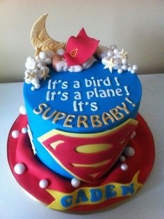 Superman cake | by Cakes by Lea
