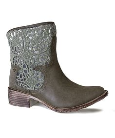 Groove Footwear Gray Daisy Boot | zulily