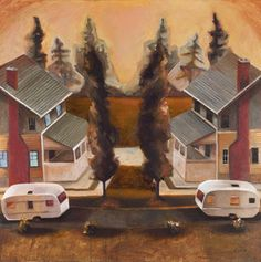 Painting by Halifax artist Jenna F. Powell