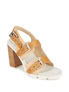 Baron Leather Buckle Sandals