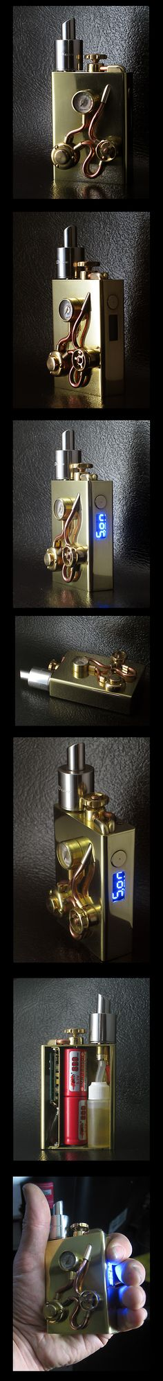 Rare Squonker #vape #boxmods #steampunk #vapeporn #vapelife #waketovape #bbv #brokeballervapes
