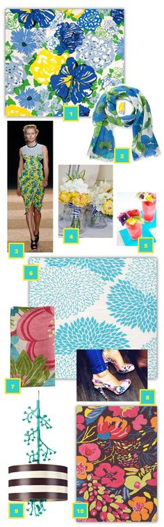 The fabulous Tobi Fairley put together this round-up of fresh floral products for Spring, including our Hot House Winter Wool Micro Hooked rug!
