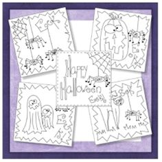 Download Eek! Spiders! Embroidery Quilt Blocks Sewing Pattern | Stitchery | YouCanMakeThis.com