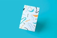 """Studio Business Cards byDon't Try Studio""""Set of colorful business cards. White foil / 5 color letterpress on triplex colorplan paper.""""Don't Try Studio is Quentin Monge. Art director based in Paris, France, focused on graphic design, branding, illustration, typography and print design."""
