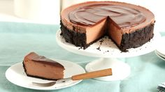 Watch Martha Stewart's Triple Chocolate Cheesecake Recipe Video. Get more step-by-step instructions and how to's from Martha Stewart.