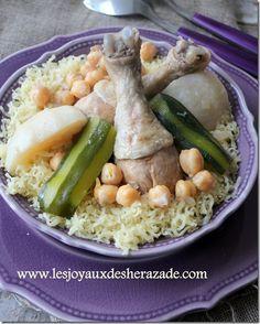 recette de rechta algeroise fait maison, cuisine algerienne