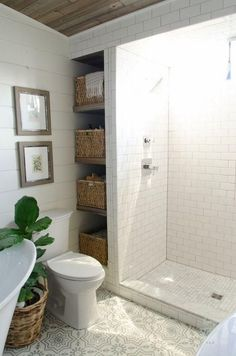 100+ Captivating Small Farmhouse Bathrooms and Easy Tips Decor #BathroomToilets