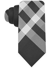 Alfani RED Tie, Royal Plaid Panel - Ties - Men - Macy's