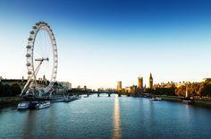 El London Eye permite disfrutar de una panorámica nueva y espectacular de Londres.