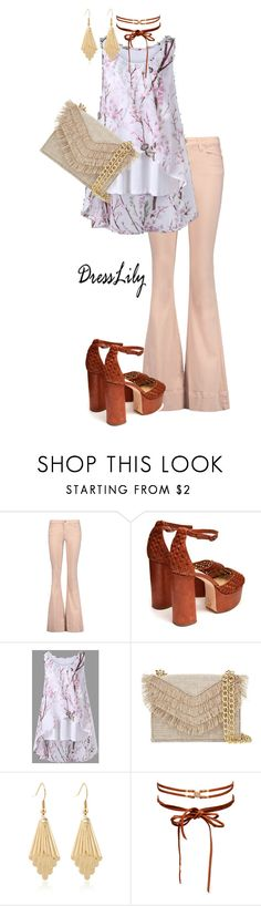 """dresslily summertops"" by live-ska ❤ liked on Polyvore featuring Alice + Olivia, Brother Vellies, Cynthia Rowley and Chan Luu"