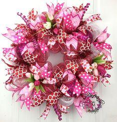 213 Best Valentine Wreaths Images On Pinterest In 2018 Valentine