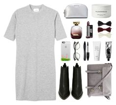 """""""i just wanna be with you"""" by bestraan ❤ liked on Polyvore featuring Monki, Jeffrey Campbell, Casetify, Lancôme, Nina Ricci, Forever 21, MICHAEL Michael Kors and Byredo"""