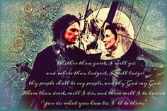 "Claire & Jamie, quote from ""Drums Of Autumn"""