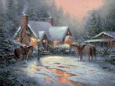 Kinkaid -- A Christmas welcome