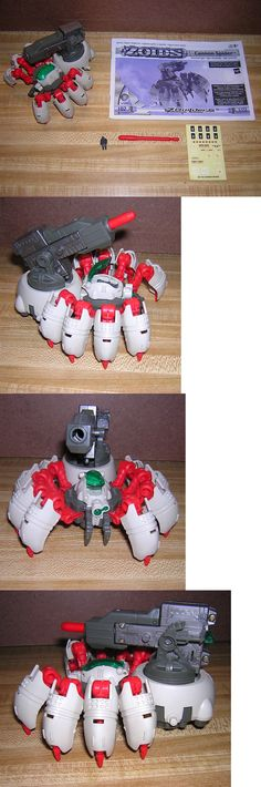 Anime 49210: Hasbro Zoids Cannon Spider (Arachnid Type) Motorized Model Kit #102 Built, Mint -> BUY IT NOW ONLY: $32.99 on eBay!