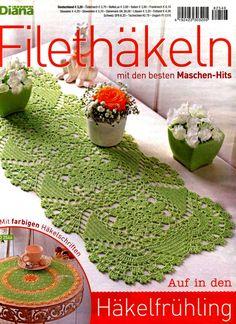 Die 241 Besten Bilder Von Häkelhefte Filethäkeln Magazines