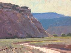 Jeremy Lipking . Southern Utah . 6″x8″, oil landscape