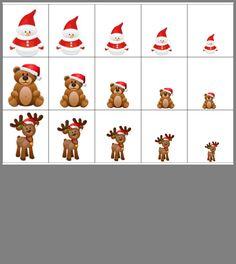 Preschool Kindergarten, Teaching Math, Calm Down Bottle, Christmas Worksheets, Asd, Special Education, Cute Drawings, Bowser, Christmas Crafts