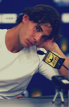 Nadal - The Rafael Nadal- I love how he's grown up throughout the years