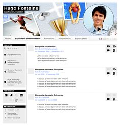 cv sportif exemple gratuit khadidja (infocpr155) on Pinterest cv sportif exemple gratuit