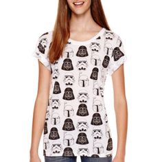 Short-Sleeve Allover Print T-Shirt  found at @JCPenney