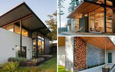 """14 Modern Homes That Use Rain Chains To Divert Water""  #interiordesign"