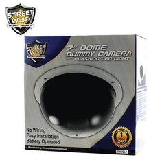 "Streetwise Large Dome Dummy Camera 7"" - NuMercy.com"