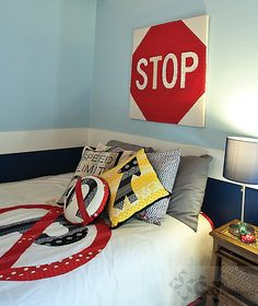Stop. Go. Quilt. Sew! by C Publishing, via Flickr. I sketched out a ton of quilt ideas last year around road signs that are still in my To Make pile. Someone beat me to them!