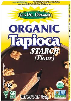 Let's Do...Organic Organic Tapioca Starch, 6-Ounce Boxes (Pack of 6) - http://goodvibeorganics.com/lets-do-organic-organic-tapioca-starch-6-ounce-boxes-pack-of-6/