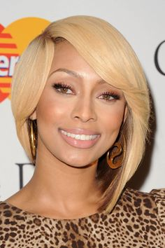 This trend is not for everyone, but crazy colors, drastic haircuts, and spiky styles are reemerging. The trick is knowing how far to take it -- like Keri Hilson. Check out Dieting Digest Keri Hilson Hairstyles, 2015 Hairstyles, Bride Hairstyles, Cute Hairstyles, African Hairstyles, Love Hair, Gorgeous Hair, Beautiful, Locks