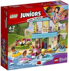 Lego Juniors 10763 Stephanie's Lakeside House New in Box ~Retired~ Girl Jet skis for sale online Lego Junior Sets, Lego Sets, Lego Friends, Smoothie Glass, Theme Sport, Construction Lego, Lego Juniors, Haus Am See, Shop Lego