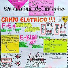 """#RESUMO #FÍSICA #CAMPOELÉTRICO #PARTE1 <span class=""""emoji emoji2764""""></span><span class=""""emoji emoji2764""""></span><span class=""""emoji emoji2764""""></span> Também já está disponível para download no blog (RESUMOS ..."""