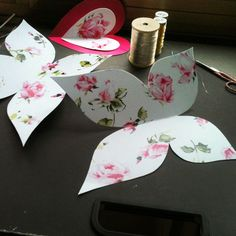 paper crafts for tea party   ... Love Tutorial : LoveSupreme paper butterflies ...   Tea Party T Paper Butterfly Crafts, Paper Butterflies, Tea Party Crafts, Craft Party, Diy Paper, Paper Art, Paper Crafts, Bug Crafts, Home Crafts