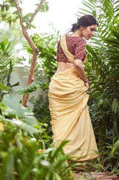 Beautiful Girl Indian, Beautiful Saree, Beautiful Indian Actress, Indian Actress Pics, Indian Actresses, Saree Backless, Saree Poses, Indian Photoshoot, Wild Girl