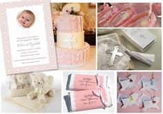 Baptism Party Ideas for Girls | Christening and Baptism Party Ideas