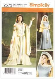 Simplicity 2573 Lily From Legend White Dress Costumes Cosplay