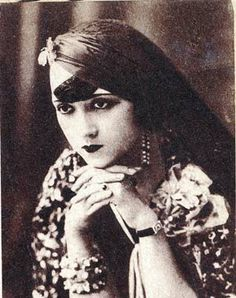 Bahiga Hafez 1908-1983 Egyptian film actress