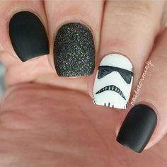 Top 10 Star Wars Nail Art Designs And Ideas