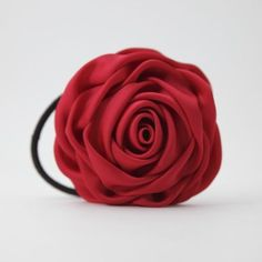 Glossy satin fabric Handmade ROSE elastic ponytail holder Rose diameter: around 3.14,8 cm Free Shipping Diameter of elastic band without stretch: 1.96,5 cm   Shipping Info  I ship from South Korea and to most countries. Products will be shipped within 1~2 days except Saturday,Sunday and Koreas holidays. Mostly within a day after payment has been cleared. I am mainly using Korea Post Offices Small Packet Flight Service(Economy International Shipping) It does not have tracking number but all…