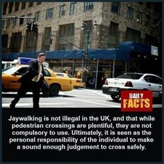 Pedestrian Crossing, Daily Facts, About Uk, No Response, Zebra Crossing
