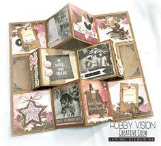 Fun Fold Cards, Pop Up Cards, Xmas Cards, Folded Cards, Diy Cards, Homemade Greeting Cards, Mini Albums Scrap, Card Tutorials, Digital Stamps