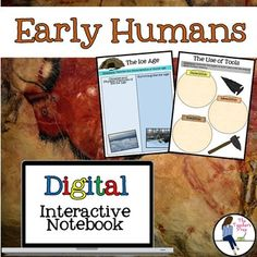 These digital interactive notebook graphic organizers will help students organize information about early humans - from the Paleolithic Era to the Neolithic Era.Interactive notebooks are an effective tool in the classroom. Not only can they assist students in keeping their work organized, but they are also an easy-to-access resource for reference throughout the year.