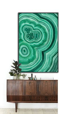 This listing is for a DIGITAL FILE of a printable watercolor Malachite Crystal poster. Available in 8 sizes, please choose from the drop down box on the top right side, same price for all. The file will be sent to you within 24 hours of purchase. Customizing size will cost more as it requires me putting additional work on the file. *I DO NOT SELL PAPER POSTERS, NO PAPER POSTER WILL BE SENT TO YOU* LIST OF PLACES YOU CAN PRINT YOUR POSTER: http://www.walmart.com http://www.walgreens.com h...