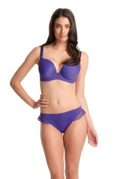 Deco Honey #Underwired Moulded Plunge #Bra @ http://www.bravolicious.co.uk/bras/deco-honey-underwired-moulded-plunge-bra.html