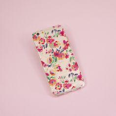 Capinha de celular Pink Flowers para iPhone, Samsung  Custom phone case  http://www.shop-gocase.com/
