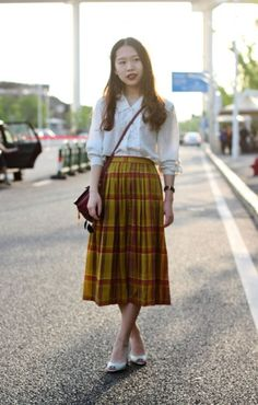 Reinventing Plaid Skirts