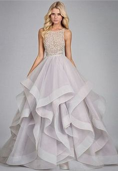 Бальное платье длинное вечернее платье 2016 ну вечеринку платья спинки оборками пола - вечерние платья вечернее платье одеяние де вечер