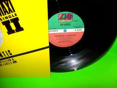 """Sparks – Pretending To Be Drunk 1984 Vintage Vinyl 12"""" EP Extended Mixes NM #NewWaveElectronicaSynthPop"""