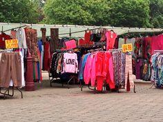 Market Place in Ilkeston, Derbyshire