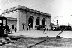 Oakland's 16th Street Train Station back in the day